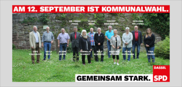 Die Kandidaten der SPD Dassel zur Wahl des Rates der Stadt und den Kreistag