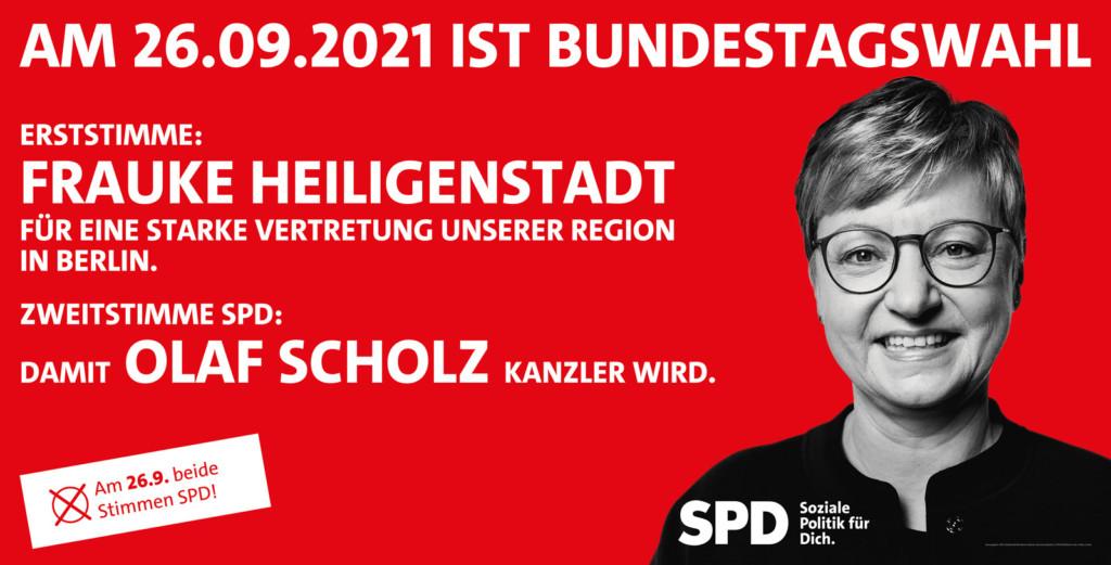 Bundestagswahl 2021 - Frauke wählen