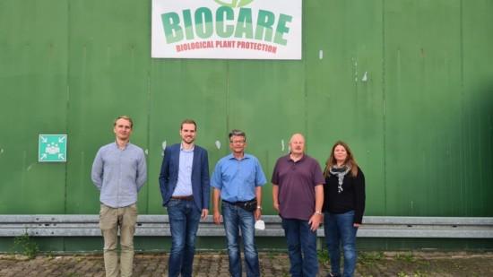 SPD und Wolter besuchen Biocare