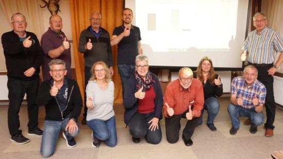 Wahlabend SPD Dassel - Sven ist Bürgermeister