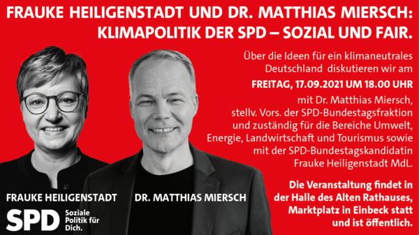Klimapolitik der SPD - Sozial und Fair